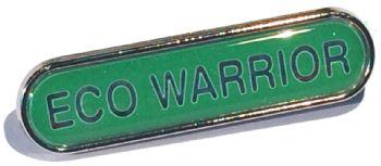 ECO WARRIOR bar badge